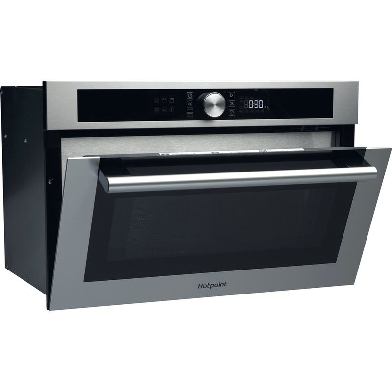 Hotpoint-Microwave-Built-in-MD-454-IX-H-Stainless-steel-Electronic-31-MW-Grill-function-1000-Perspective