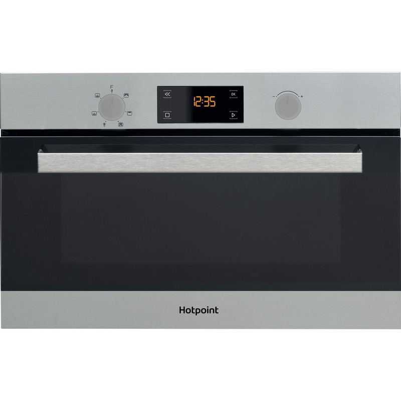 Hotpoint-Microwave-Built-in-MD-344-IX-H-Stainless-steel-Electronic-31-MW-Grill-function-1000-Frontal