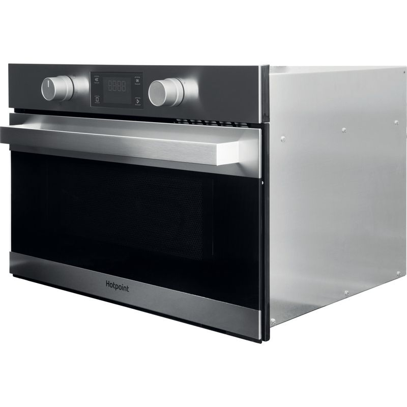 Hotpoint-Microwave-Built-in-MD-344-IX-H-Stainless-steel-Electronic-31-MW-Grill-function-1000-Perspective