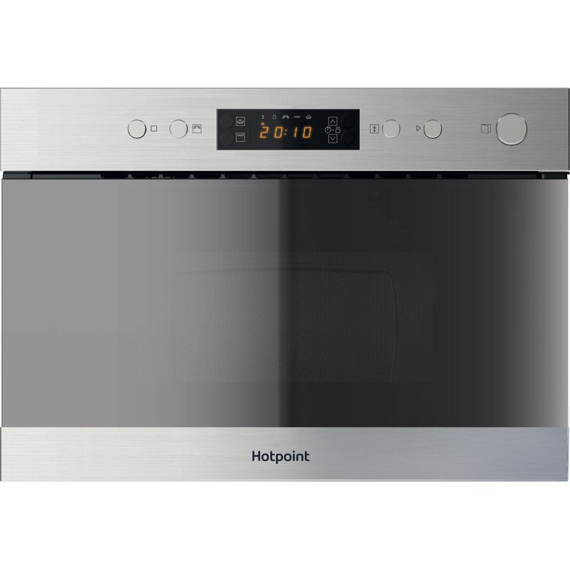 Hotpoint-Microwave-Built-in-MN-314-IX-H-Stainless-steel-Electronic-22-MW-Grill-function-750-Frontal