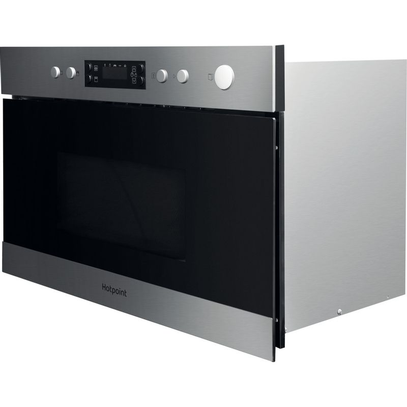 Hotpoint-Microwave-Built-in-MN-314-IX-H-Stainless-steel-Electronic-22-MW-Grill-function-750-Perspective