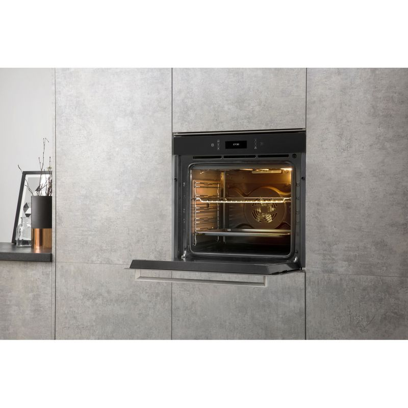 Hotpoint-OVEN-Built-in-SI9-891-SC-IX-Electric-A--Lifestyle-perspective-open