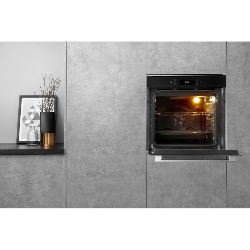 Hotpoint-OVEN-Built-in-SI9-891-SP-IX-Electric-A--Lifestyle-frontal-open