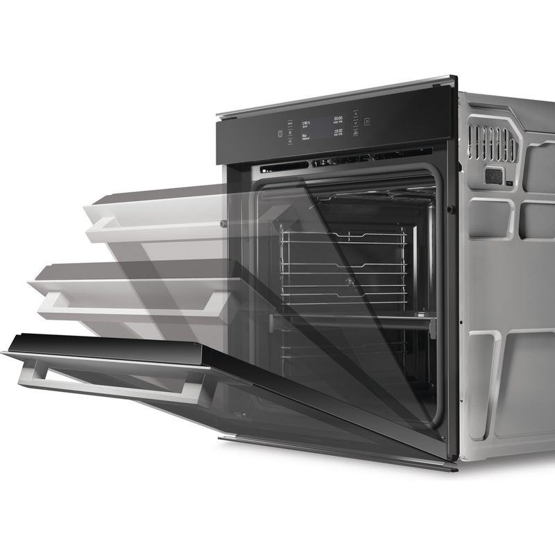Hotpoint-OVEN-Built-in-SI9-891-SP-IX-Electric-A--Lifestyle-perspective-open