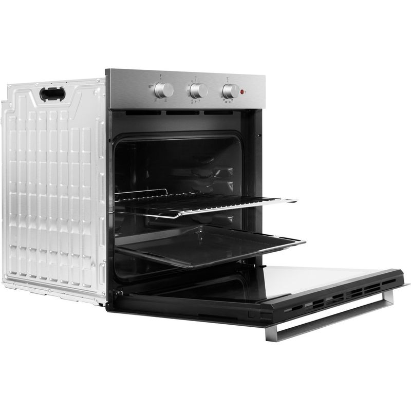 Hotpoint-OVEN-Built-in-SA3-330-H-IX-Electric-A-Perspective-open