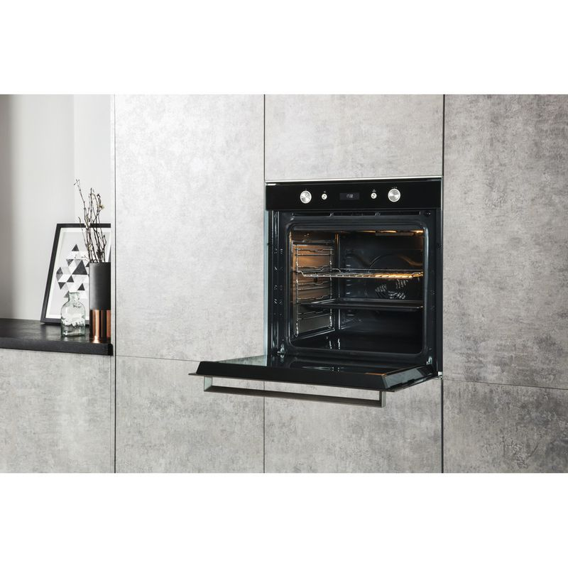Hotpoint-OVEN-Built-in-SI7-864-SC-IX-Electric-A--Lifestyle-perspective-open