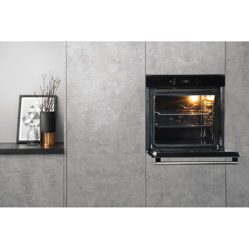 Hotpoint-OVEN-Built-in-SI6-874-SC-IX-Electric-A--Lifestyle-frontal-open