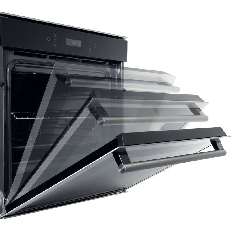 Hotpoint-OVEN-Built-in-SI6-874-SC-IX-Electric-A--Lifestyle-perspective-open