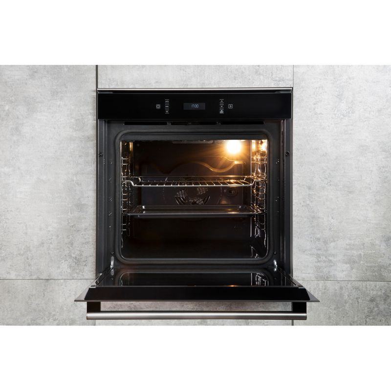 Hotpoint-OVEN-Built-in-SI6-874-SP-IX-Electric-A--Lifestyle-frontal-open