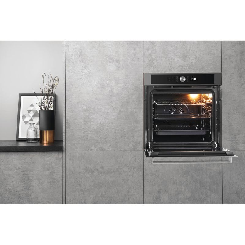 Hotpoint-OVEN-Built-in-SI5-851-H-IX-Electric-A--Lifestyle-frontal-open