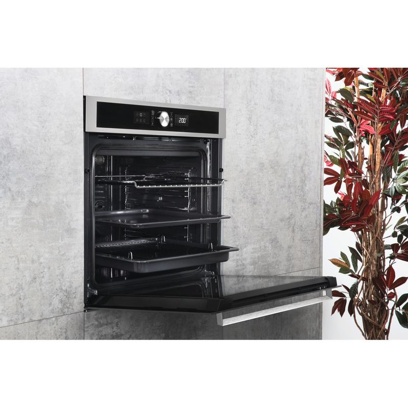 Hotpoint-OVEN-Built-in-SI5-851-H-IX-Electric-A--Lifestyle-perspective-open