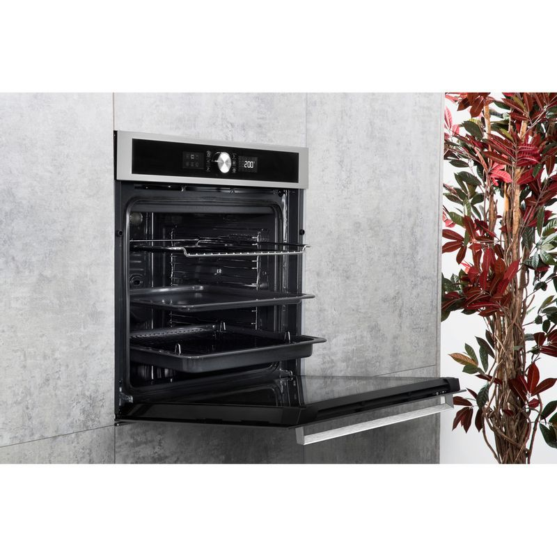 Hotpoint-OVEN-Built-in-SI5-851-C-IX-Electric-A--Lifestyle-perspective-open