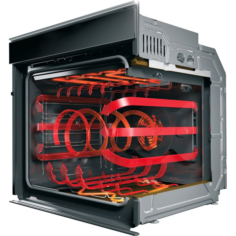 Hotpoint-OVEN-Built-in-SI5-854-P-IX-Electric-A--Perspective-open