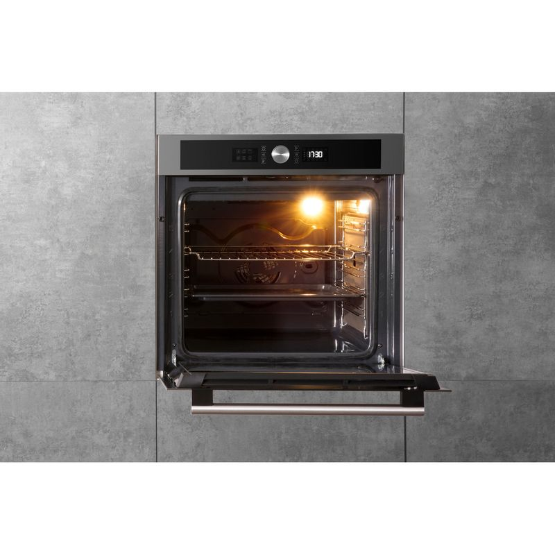 Hotpoint-OVEN-Built-in-SI5-854-P-IX-Electric-A--Lifestyle-frontal-open