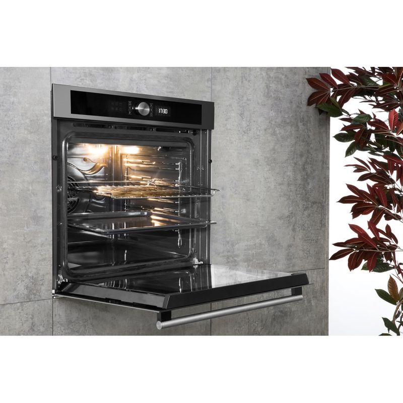 Hotpoint-OVEN-Built-in-SI5-854-P-IX-Electric-A--Lifestyle-perspective-open