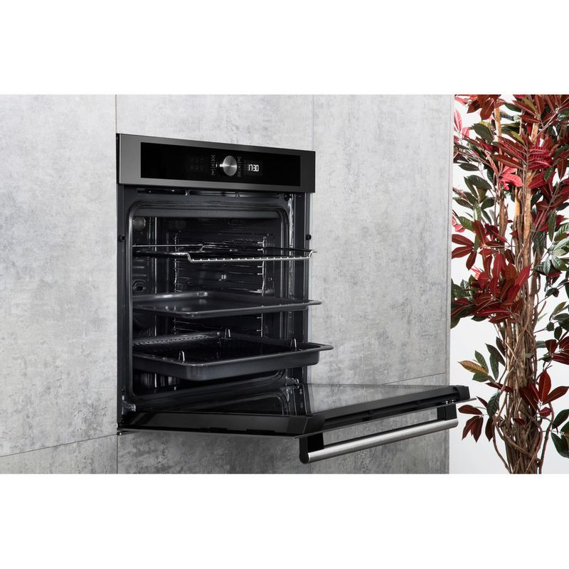 Hotpoint-OVEN-Built-in-SI4-854-H-IX-Electric-A--Lifestyle-perspective-open