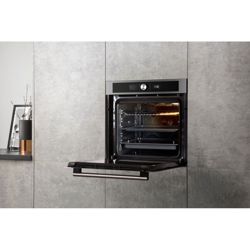 Hotpoint-OVEN-Built-in-SI4-854-P-IX-Electric-A--Lifestyle-perspective-open