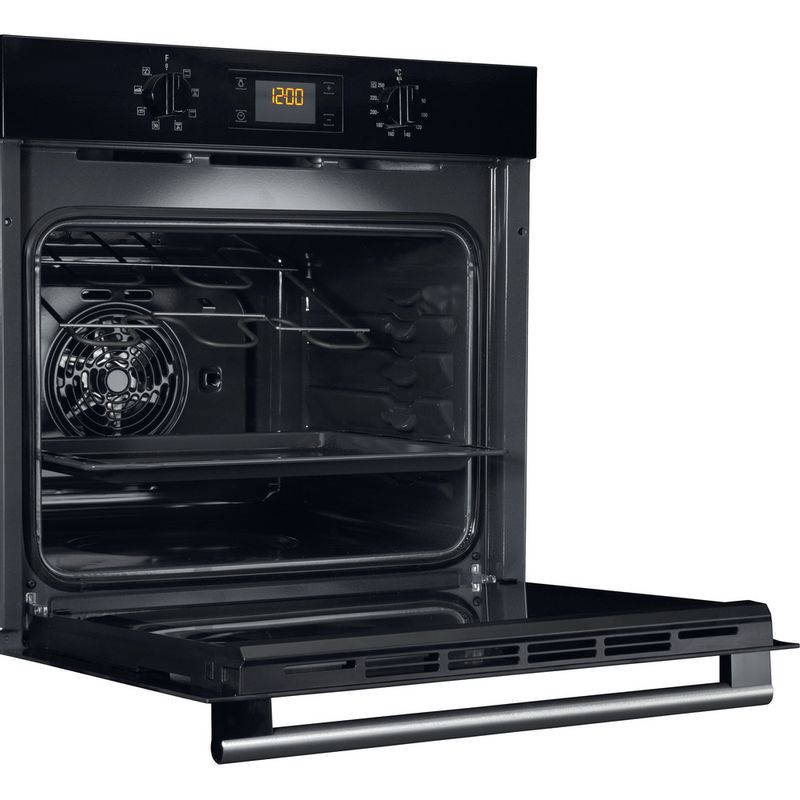 Hotpoint-OVEN-Built-in-SA2-540-H-BL-Electric-A-Perspective-open