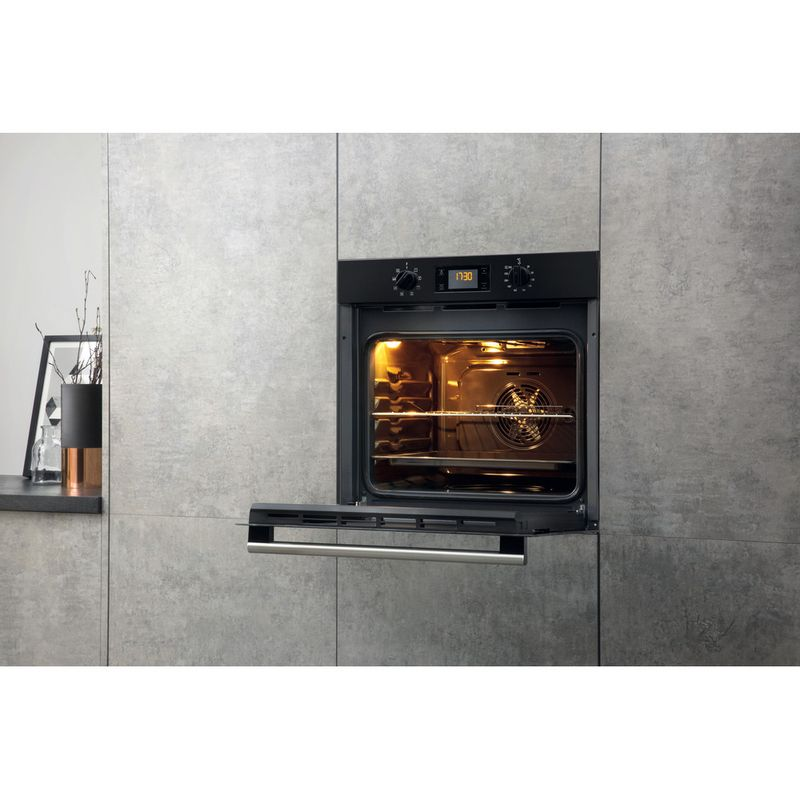 Hotpoint-OVEN-Built-in-SA2-540-H-BL-Electric-A-Lifestyle-perspective-open