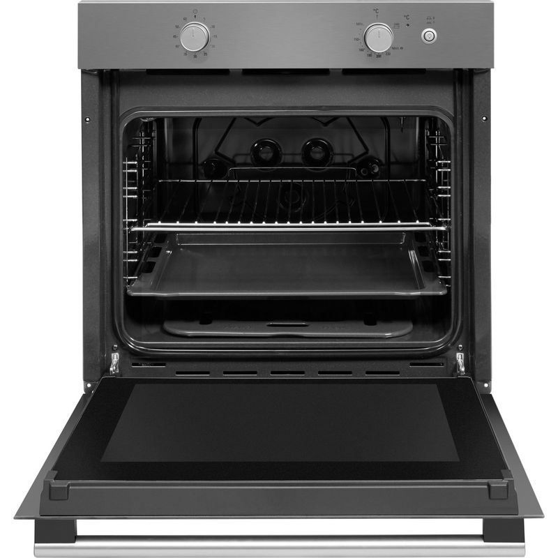 Hotpoint-OVEN-Built-in-GA2-124-IX-GAS-A--Frontal-open
