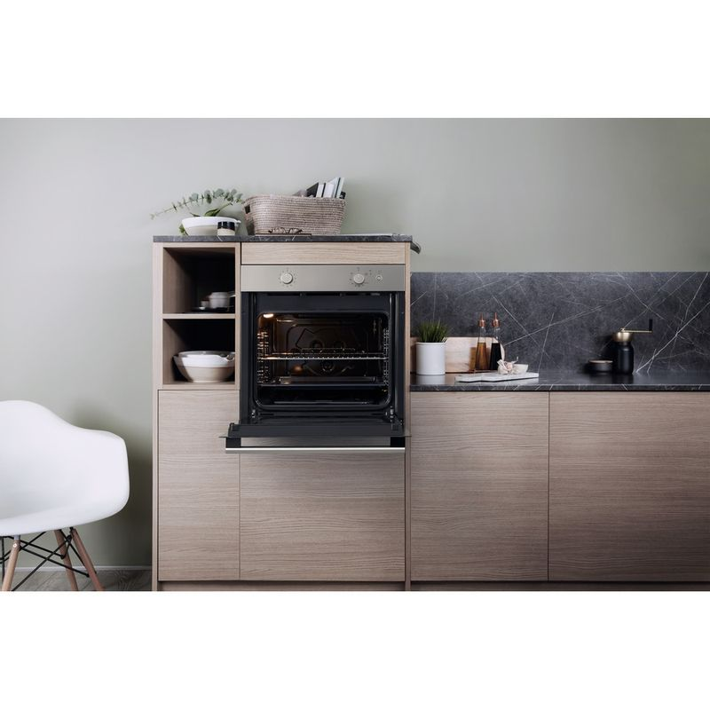 Hotpoint-OVEN-Built-in-GA2-124-IX-GAS-A--Lifestyle-frontal-open