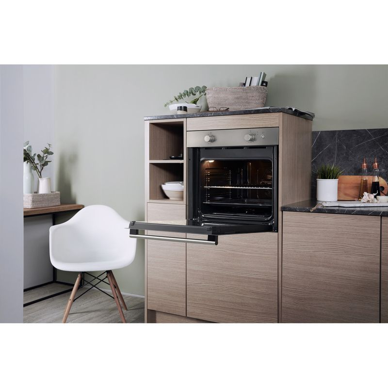 Hotpoint-OVEN-Built-in-GA2-124-IX-GAS-A--Lifestyle-perspective-open
