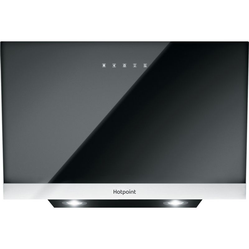 Hotpoint-HOOD-Built-in-PHVP-8.7F-LT-K-Black-Wall-mounted-Electronic-Frontal