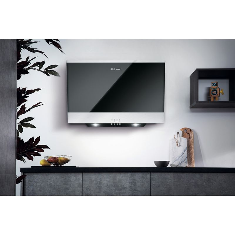 Hotpoint-HOOD-Built-in-PHVP-6.6F-LM-K-Black-Wall-mounted-Mechanical-Lifestyle-frontal