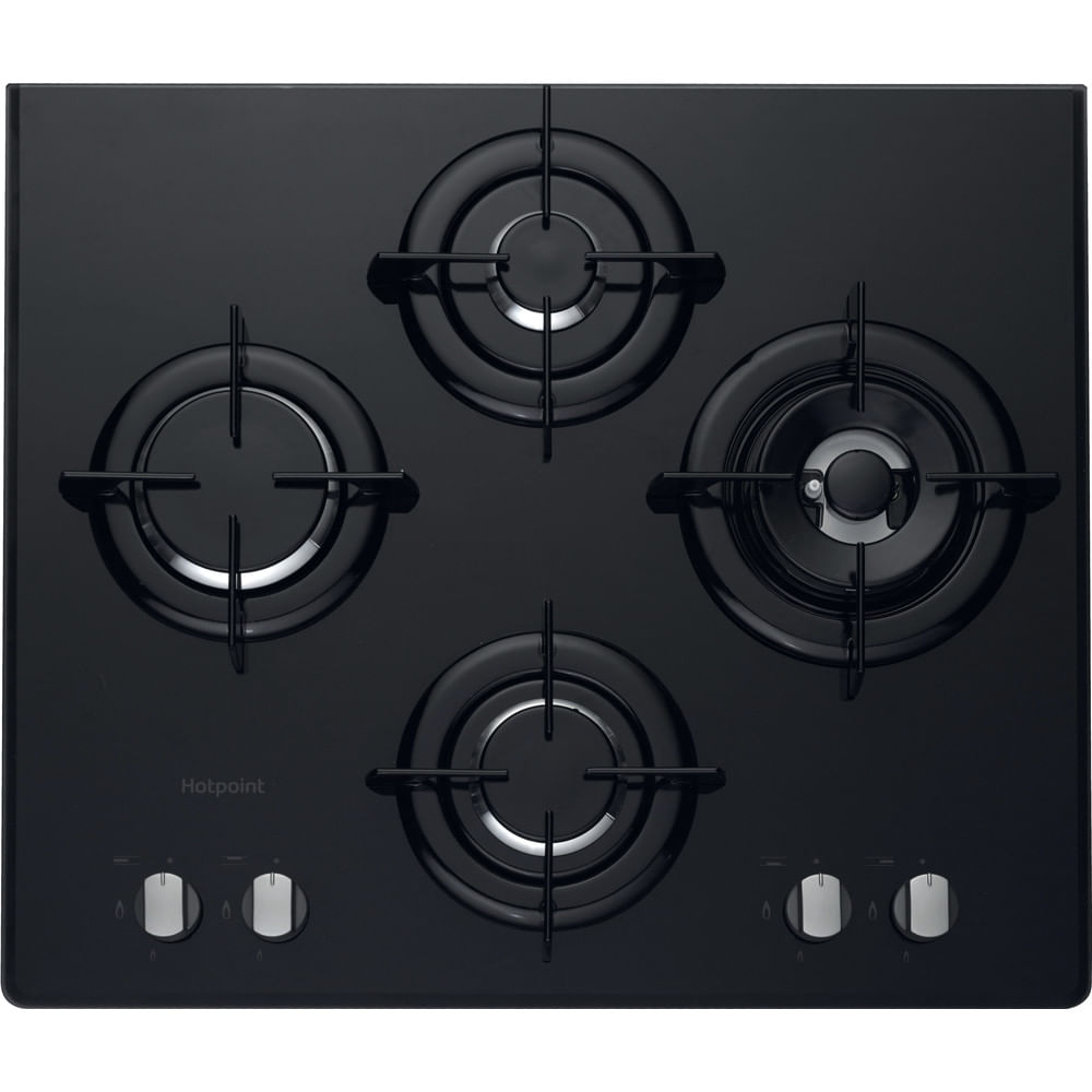 Hotpoint Gas Hob DD 642 W/H(BK) : discover the specifications of our home appliances and bring the innovation into your house and family.