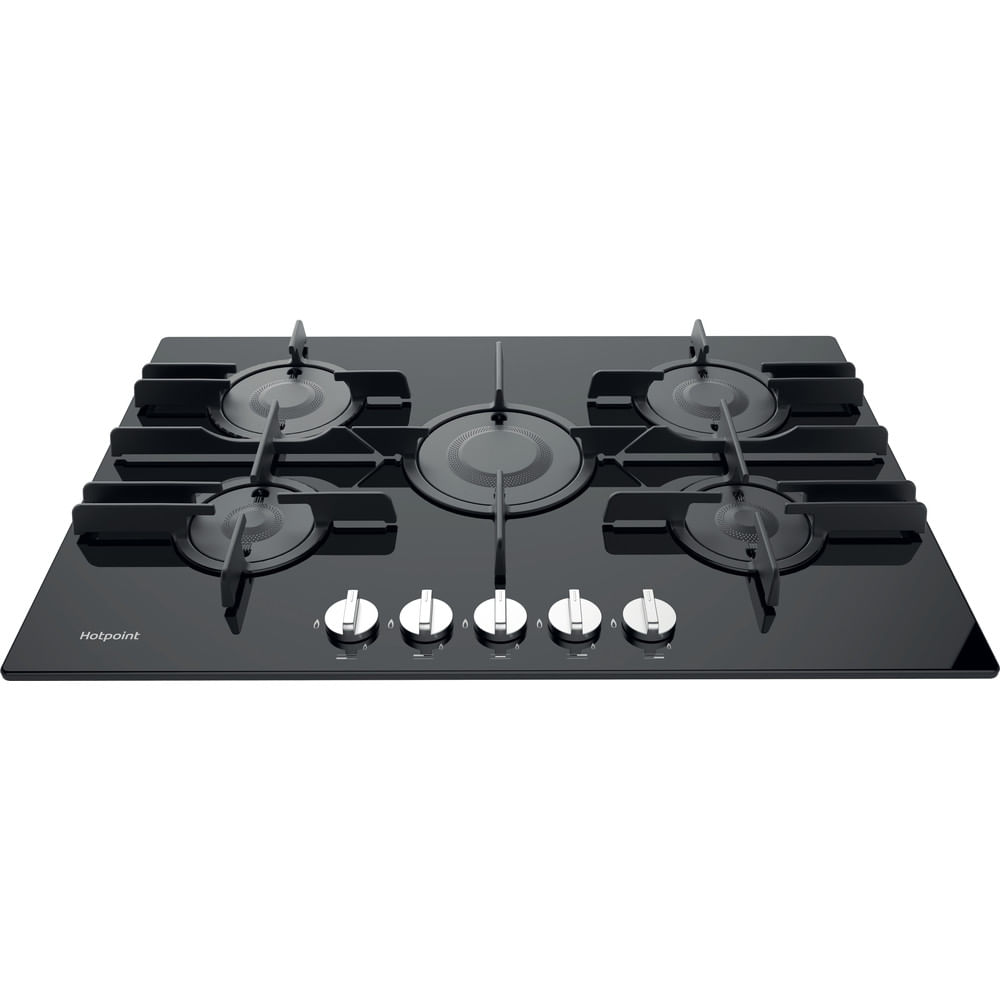 Hotpoint Gas Hob FTGHG 751 D/H(BK) : discover the specifications of our home appliances and bring the innovation into your house and family.
