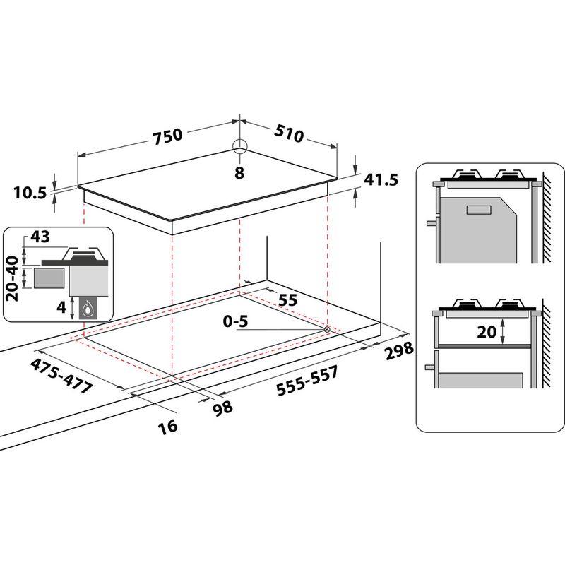 Hotpoint-HOB-FTGHG-751-D-H-BK--Black-GAS-Technical-drawing