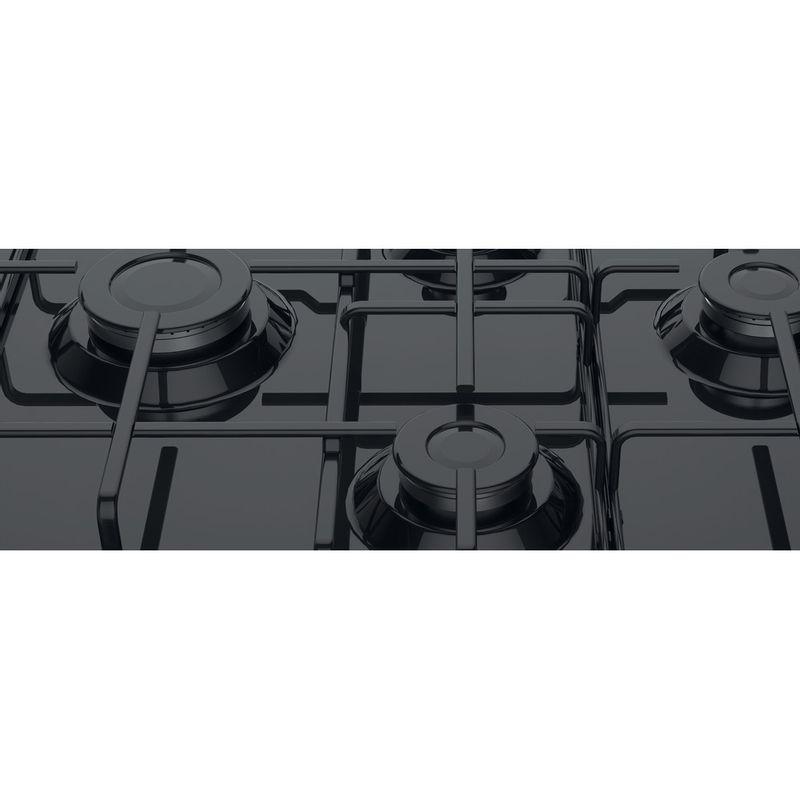 Hotpoint-HOB-PCN-642--H-BK--Black-GAS-Heating-element