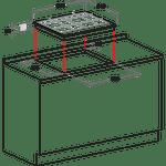 Hotpoint-HOB-PKL-641-EX-H-Inox-GAS-Technical-drawing