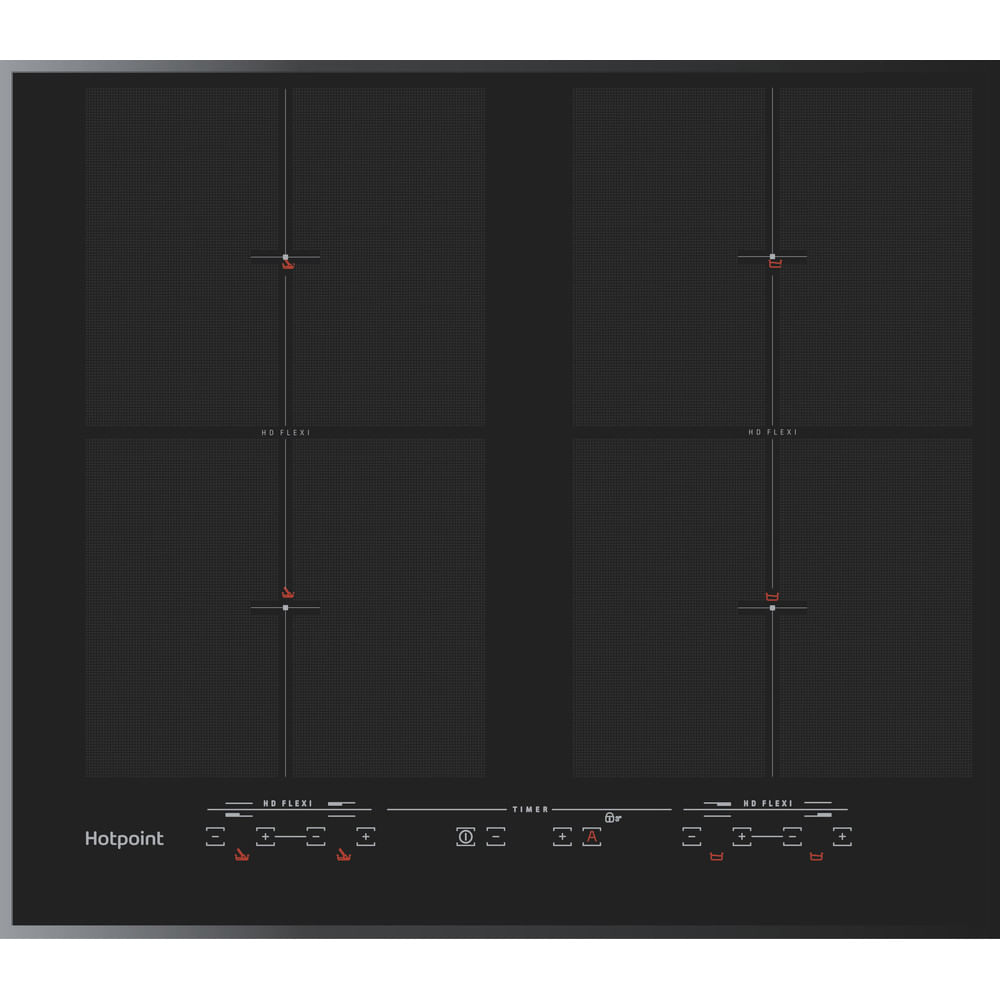 Hotpoint Induction Hob CIU 642 F B : discover the specifications of our home appliances and bring the innovation into your house and family.