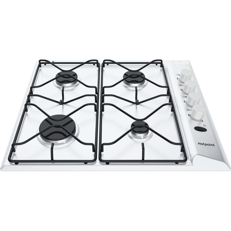 Hotpoint-HOB-PAS-642--H-WH--White-GAS-Frontal-top-down