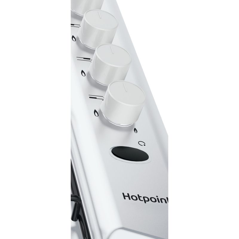 Hotpoint-HOB-PAS-642--H-WH--White-GAS-Control-panel
