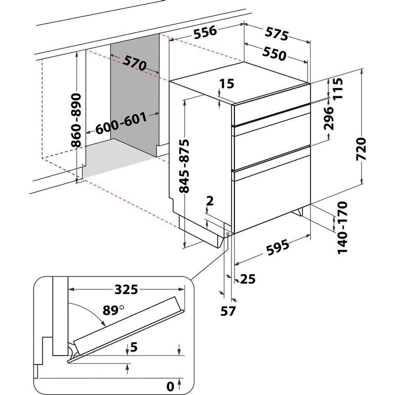Hotpoint-Double-oven-DKU5-541-J-C-IX-Inox-A-Technical-drawing