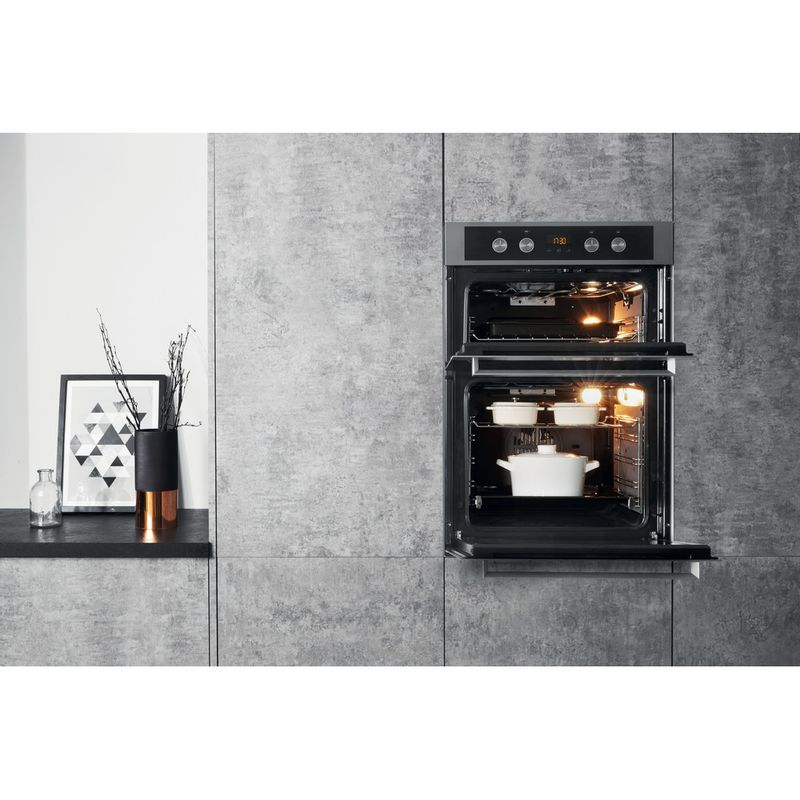 Hotpoint-Double-oven-DKD5-841-J-C-IX-Inox-A-Lifestyle_Frontal_Open