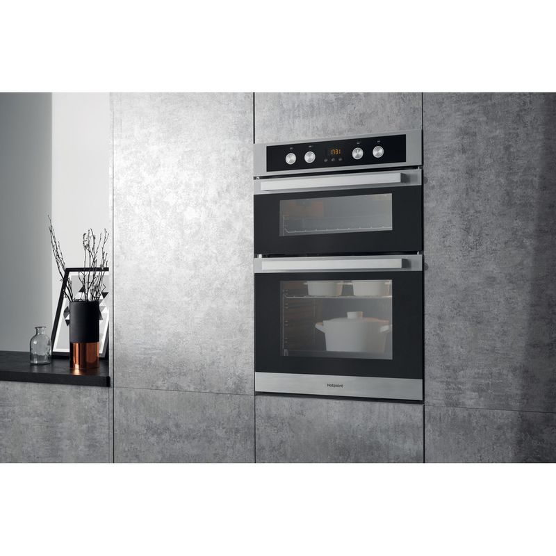 Hotpoint-Double-oven-DKD5-841-J-C-IX-Inox-A-Lifestyle_Perspective