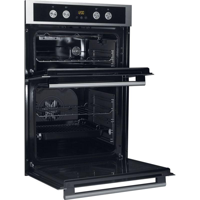Hotpoint-Double-oven-DU4-541-J-C-IX-Inox-A-Perspective-open