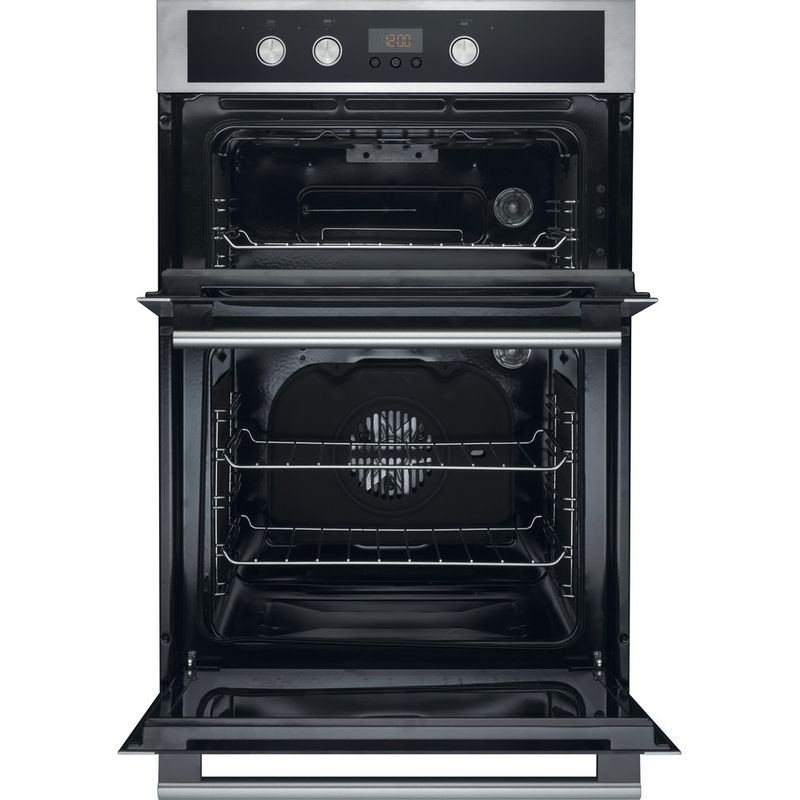 Hotpoint-Double-oven-DD4-544-J-IX-Inox-A-Frontal_Open