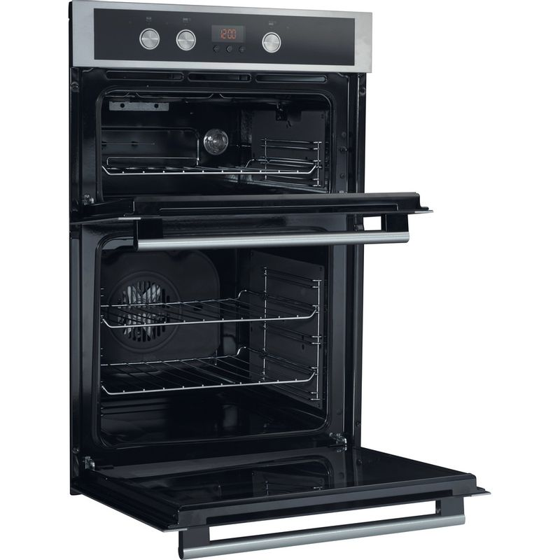 Hotpoint-Double-oven-DD4-544-J-IX-Inox-A-Perspective_Open
