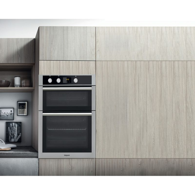 Hotpoint-Double-oven-DD4-544-J-IX-Inox-A-Lifestyle_Frontal