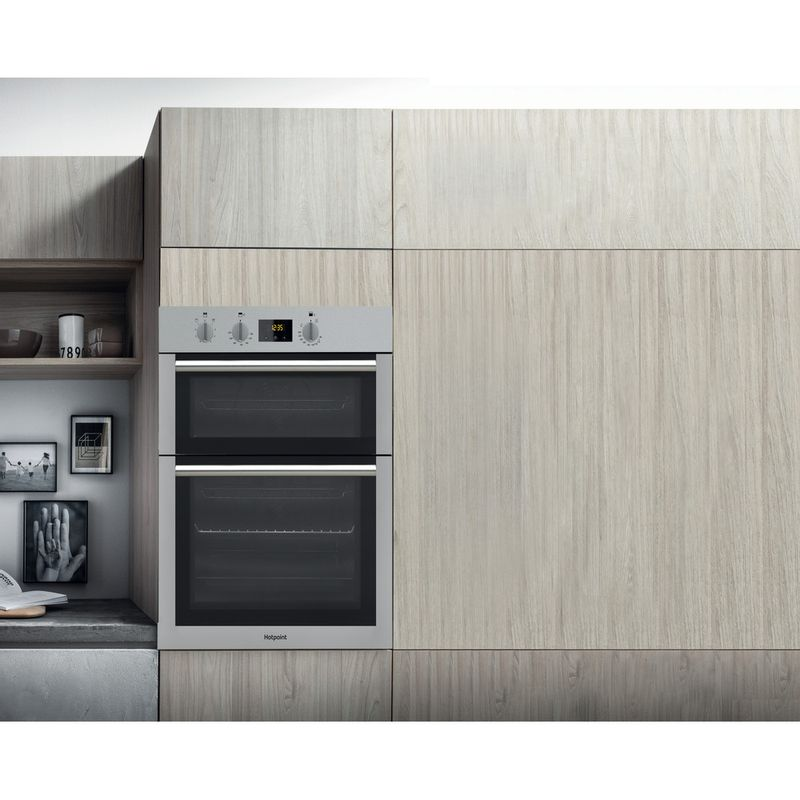 Hotpoint-Double-oven-DD4-541-IX-Inox-A-Lifestyle_Frontal
