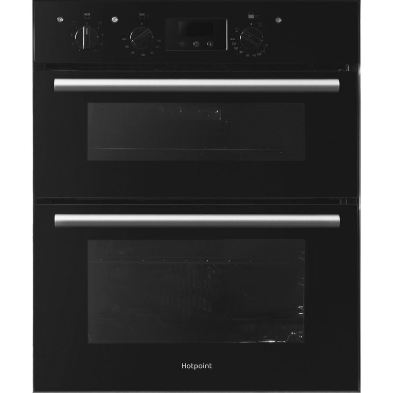 Hotpoint-Double-oven-DU2-540-BL-Black-A-Frontal