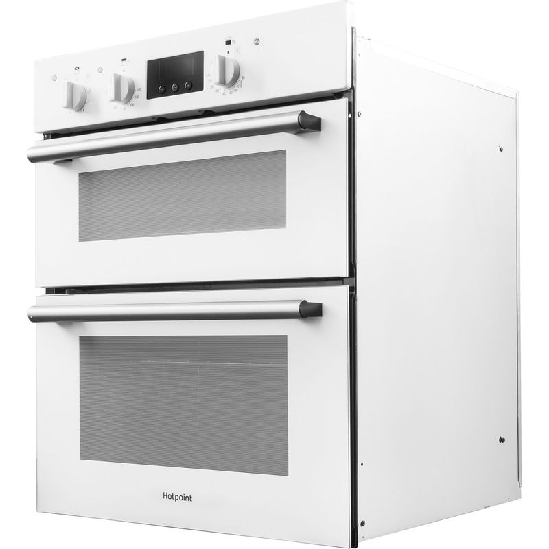 Hotpoint-Double-oven-DU2-540-WH-White-A-Perspective
