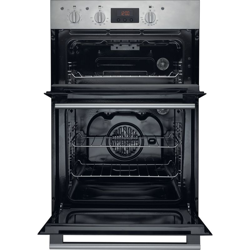 Hotpoint-Double-oven-DD2-540-IX-Inox-A-Frontal_Open