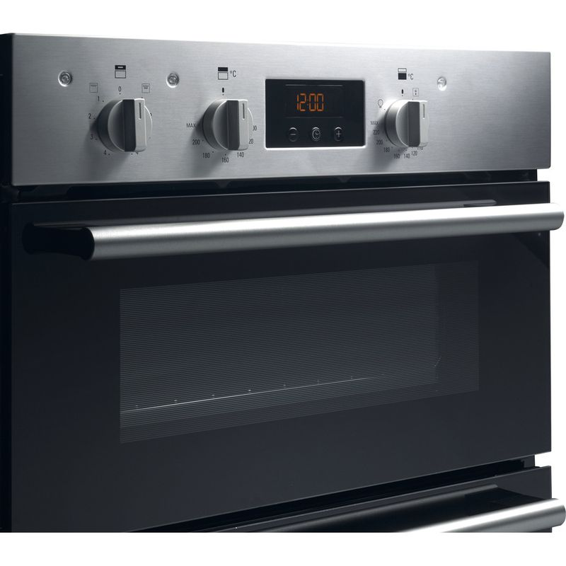 Hotpoint-Double-oven-DD2-540-IX-Inox-A-Perspective