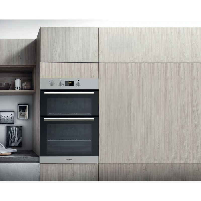 Hotpoint-Double-oven-DD2-540-IX-Inox-A-Lifestyle_Frontal