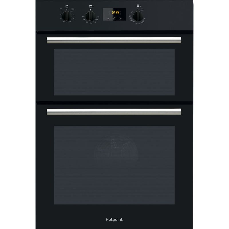 Hotpoint-Double-oven-DD2-540-BL-Black-A-Frontal